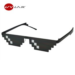 funny sunglasses Coupons - 2018 Deal With It Glasses 8 bits Thug Life Sunglasses Women Men Dealwithit Popular Around the World Party Funny Eyewear
