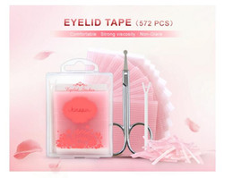 Wholesale Tape For Eyes - 572pcs Double Sides Eyelid Stickers Magic Stretch Fiber adhesive medical Eye Tape Strips for Natural-looking Creased Eyelid