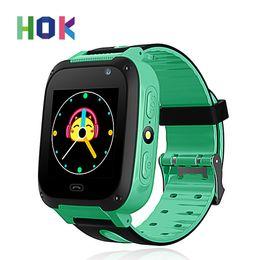 Дети GPS Smart Watch дети SOS Smart наручные часы детские местоположение Tracker с камерой голосовой чат Sim-вызов для Android IOS телефон от