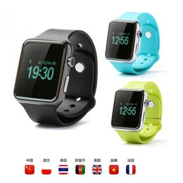Wholesale apple sms - Bluetooth Smart Watch A1 PK DZ09 Sport SmartWatch Smart Watches Support SIM and TF Card Call SMS Reminder For Smart Android phones MQ50