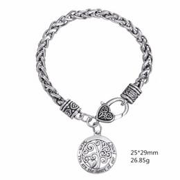 Minimal Brand MOM Message mit Ihnen ist das Herzstück unserer Familie Charm Bracelet für Muttertagsgeschenke Wicca Talisman Amulet von Fabrikanten