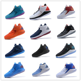 Wholesale luxury throws - 2018 New CNY 32 Black Cement Mens Basketball Shoes 32s XXXII Free Throw Line Win Like 96 Red Bottom Luxury Sports Sneakers 7-12