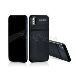 Wholesale Cheap Focus - Carbon Fiber Brushed Texture Soft Silicon PU TPU Leather case AUTO FOCUS Skin Back cover for iPhone X 6 6s 7 8 plus 10 i7 i8 i6 cheap 50pcs