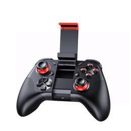 controlador de juegos bluetooth android Rebajas Gafas de Realidad Virtual Joystick Inalámbrico Bluetooth Gamepad Controlador 3D VR Remoto Para Android iPhone Soporte de Juego Teléfonos Inteligentes