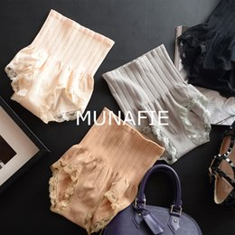 de64ab163 New Janpan Calcinhas Munafie Cintura Alta Calcinha das mulheres de Controle  de Cuidados de Beleza Corpo Emagrecimento Barriga Em