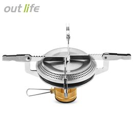 Wholesale portable gas camping stove - Outlife Portable Gas Burner Mini Stove Head