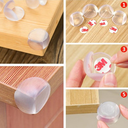Wholesale table corner safety guards - Baby Safety Corner Guards Table Protector Edge Safety Protection Cover Child Safety Protector Corner Guards Furniture Accessorie I367