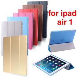 2019 tier tabletten fällen Heißer Verkauf Fall für neues iPad 9,7 Zoll Abdeckung Ultra Slim Auto Sleep Cover auch für Ipad 5 Luft 1 A1474 A1475 A1476 Release.