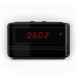 Wholesale Spy Hidden Camera Alarm Clock - Hidden Camera Alarm Clock 1080P Full HD Spy Remote Control Security Camera Nanny Cam