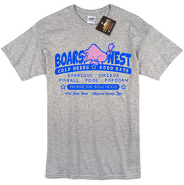 duke blue shirt Coupons - Boars Nest Dukes of Hazzard Inspired T-shirt - Retro 80's TV Tee Shirt NEW Funny free shipping Casual tee