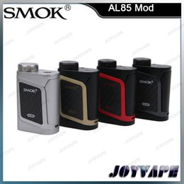 Wholesale Beat Boxes - Authentic SMOK AL85 TC Box Mod Alien Baby Alien Mini Mod 85W Best Mate of Cloud Beat Tank TFV8 Baby 100% Original