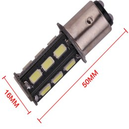 automotive led glühbirnen Rabatt 100 stücke Weiß 6000 Karat 10 Watt High Power 1156 1157 ba15s 5630 18SMD Super Helle Automotive Led-lampe Sichern Rückwärts Bremsleuchten
