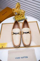 männer mokassin schuhe Rabatt 2017 Herrenschuhe Luxusmarke Echtes Leder Casual Fahren Oxfords Wohnungen Schuhe Herren Loafers Mokassins Italienische Schuhe für Männer Größe EUR38-44