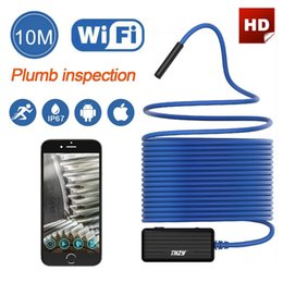 Wholesale borescope iphone - THZY Wireless Endoscope WiFi Borescope Inspection Camera 2.0 Megapixels HD Snake Camera for Android and IOS Smartphone, iPhone, Samsung, Tab