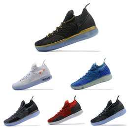 on sale a5875 507eb Barato KD 11 EP Elite Tênis De Basquete Homens KD 11s Multicolor Pêssego  Jam Mens Doernbecher Formadores Kevin Durant 10 EYBL All-Star BHM Sneakers