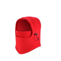 Wholesale masks hoods for men women - Winter Hats Skullies Beanies for Men Women Warm Bonnet Hood Cover Scarf Neck Warmer Fleece Skull Ski Face Mask Beanies Bonnet