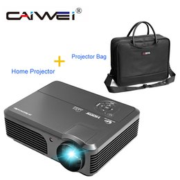 Wholesale Used Lcd Tvs - CAIWEI Home Theater Use 4200 Lumens LCD Projector Family Private Cinema Movie TV Beamer Support 1080p HD Full Video Projector