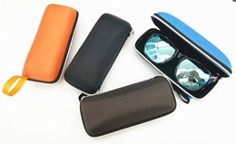 Wholesale European Style Women Suit - European and American Style Easy To Carry Zipper Sunglasses Case For Man and WomenMulti-colors Suits Large Quantities Wholesale