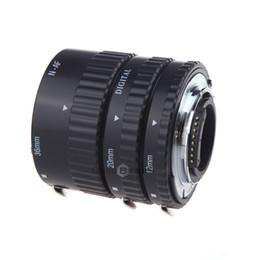 12mm 20mm 36mm Auto Focus Macro Extension Tube Set pour Nikon SLR / Nikkor AF AF-S D G / Série VR ? partir de fabricateur