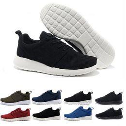 premium selection 06789 7bb48 nike air roshe run one Gros classique Londres olympique nouveau chaud noir  bas bottes léger respirant chaussures de course hommes femmes coussin 2018  sport ...