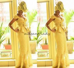stampe africane sirena abiti Sconti moda Ankara kitenge Africano abiti da ballo Prom Sirena stampe africane Trecce nigeriano Abiti da sera Ghana pizzo peplo Prom Dress