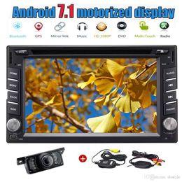 Wholesale dvd navigation radio - Eincar Double 2 din 6.2'' Autoradio Android 7.1 Quad Core PC Headunit Car Radio Stereo GPS Navigation Car DVD Player Bluetooth