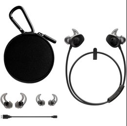 Wholesale good music phones - Hot Sell Soundspot Wireless Earphones Bluetooth Headphones Sport portable Good Sound With Retail Package Heahsets For Sport And Music