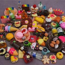 20 pçs / lote Bonecas Em Miniatura Fingir Brinquedo Mini JOGO DE ALIMENTOS Para o presente Da Boneca para a menina de
