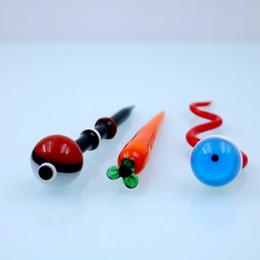 vaporizer schlange Rabatt 5 '' Snake Eye Dabbers Ölbohrinsel Glas Tupfen Dabber Werkzeuge Billiger Dabber Bleistifte Dabbers für Glas Nagel Quarz Banger Öl Kraut Vaporizer