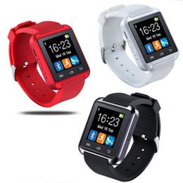 2019 наручные часы для телефона U8 Bluetooth Smart Watch Часы наручные Smartwatch для iPhone 4 4S 5 5S 6 6 S 6 plus Samsung S4 S5 примечание 2 Примечание 3 HTC Android телефон смартфоны дешево наручные часы для телефона