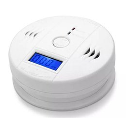 Argentina Sensor de Gas de Monóxido de Carbono CO Monitor de Alarma Poisining Detector Probador Para la Vigilancia de la Seguridad del Hogar de Alta Calidad DHL Suministro