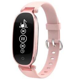 2019 mp3 браслет Женские часы S3 Smart Bracelet Heart Rate Smart Wristband Mp3 Mp4 Fitness Tracker band Pk xiaomi mi band 3 Pk Mi 3 скидка mp3 браслет