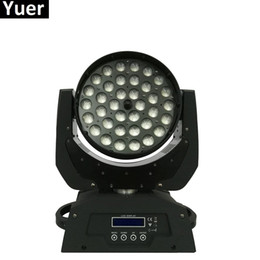 19x10w Led RGBW 4IN1 Spot / Bead Light DMX512 Head Head Light Profesional DJ / Bar / Fiesta / Show / Stage Light LED Etapa Máquina desde fabricantes