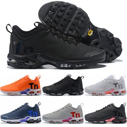 online store 7dcc4 b8e30 Air Max Mercurial Plus TN Airmax Mercurial Plus Tn Uomo Donna Running Shoes  Ultra Triple Nero Bianco Cool Grigio Arancione Blu Cheap Uomo Athletic  Sport ...
