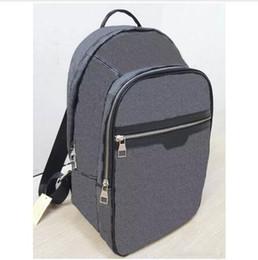 4664169b2baf China Luxury Designer Brand Mens Backpacks Europe Damier Cobal Mens Travel  bag High Quality School bag