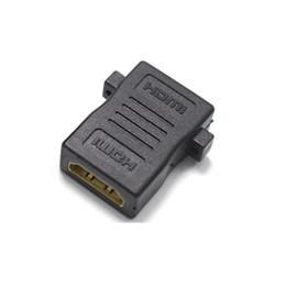 Винтовые адаптеры онлайн-HDMI разъем HDMI Женский к HDMI Женский с отверстиями для винтов пара расширитель адаптер для HD TV HDCP 1080P конвертер