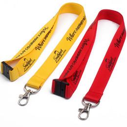 2019 impresión de cordón personalizado 200pcs / lot 2x90cm acollador personalizado, acollador de impresión de pantalla de logotipo personalizado, acolladores personalizados marca OEM para llaves correa de cuello de teléfono impresión de cordón personalizado baratos
