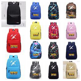 3a1706c038ba Fortnite Game Students Laptop Bags Large Capacity Backpack Boys   Girls   School Backpacks Casual Travel Bag 14 Colors 45 31 13 cm