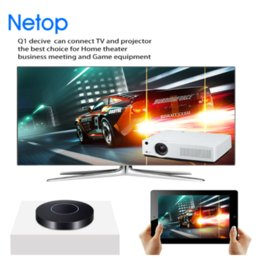 Wholesale Best Connect - Netop Q1 Best Device can connect TV and Projector the Best Choice for Home Theater Business metting and Game Equipment Free DHL Shipping