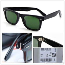 2019 gafas de moda para adultos Gafas de sol Plank de alta calidad Marco de tortuga Lente verde Bisagra de metal Gafas de sol Hombres Gafas de sol para hombre Nuevo gafas de sol unisex Caja de lente de vidrio