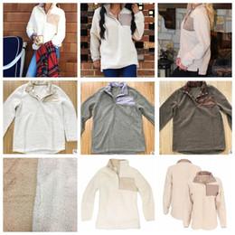 Wholesale Slim N - women Sherpa Pullover n oversize jacket winter outwear high quality soft fleece Sherpa winter outwear jacket KKA2997