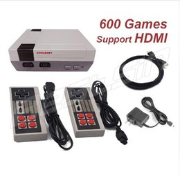 Wholesale Wi Fi Tv Box - Mini TV Handheld Game Player Video Game Console HDMI Video Handheld for NES games consoles 600 with retail box