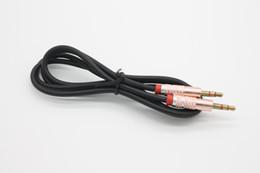 Cable de cable de audio AUX macho enchapado en oro enchufado en TPE enchufado en oro de 1m / 3ft 3.5mm por DHL 100+ desde fabricantes
