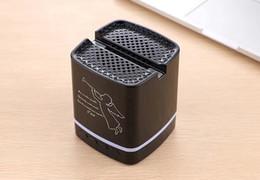 T-213 Kablosuz Hoparlörler ile Taşınabilir Mini Bluetooth Hoparlör Cep Telefonu Tutucu için Iphone X, Samsung Galaxy S9 Smartphone nereden cep telefonu için mini taşınabilir hoparlör tedarikçiler