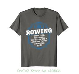 Canada Aviron 2000 mètres T-shirt drôle d'aviron T-shirt 100% coton de réduction pour les hommes supplier discount meter Offre