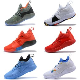 Wholesale Playstation Black - PG2 PlayStation 2018 Top Quality Paul George PG 2 Basketball Shoes Home Craze shoes for sale Free Sports Socks pair US7-US12