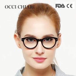 369d8fc0ce eyeglass girl blue Canada - OCCI CHIARI Italy Design Classic Fashion Women Girls  Eyeglasses Eyewear Glasses