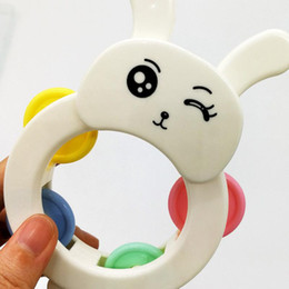 Wholesale Teether Rattle Set - 14pcs set Baby Rattles Teether Ball Shaker Grab and Spin Rattle Teether Toy Play Set for Baby Infant Non Toxic Colorful Toddler Toys