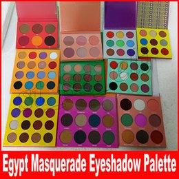 Paleta de maquiagem de bronze on-line-Novo Pro Eye Shadow Edition paleta highlighter 6 cores 9 cores 16 cores 12 cores maquiagem sombra de olho Blush Bronze paleta