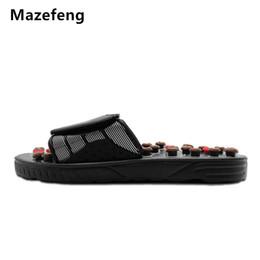 Wholesale women massage slippers - Massage Slipper Shoes Men Summer Slipper acupoint Healthcare Slipper Health Rotating Accupressure Foot Slippers for Men Women